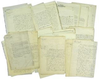 Archive of 47 Mexican Manuscript and Printed Documents -Laws, Decrees, Circulars- from the...
