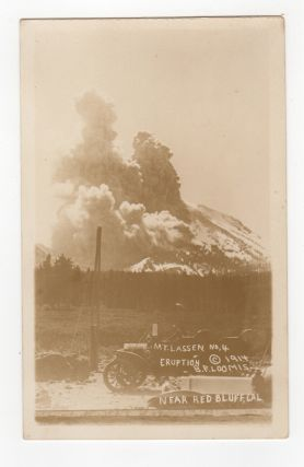 Photographic Postcard] Mt. Lassen, No. 4, Eruption. Near Red Bluff, Cal. [Caption Title]....
