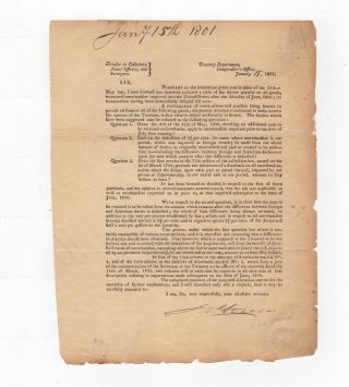 Circular to collectors, naval officers, and surveyors. Treasury Department, Comptroller's Office,...