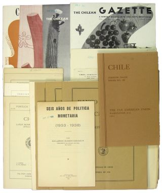 Small Archive of 19 Publications on Chilean Trade and Finance: 1927-1945. Chile