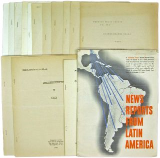 Small Archive of 12 Publications on Latin American Trade and Finance: 1933-1941. Pan American...
