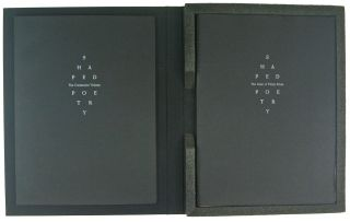 Shaped Poetry. A suite of 30 Typographic Prints Chronicling this Literary Form from 300 BC to the Present.