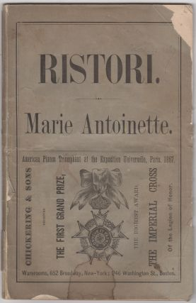 Marie Antoinette. A Drama in a Prologue, Five Acts, and Epilogue. Written Expressly for Madame...